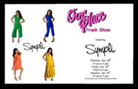 Happening now: Sympli trunk show at Our Place