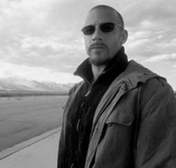 NEW LINE - OUT OF GAS Vin Diesel is all dressed down with - nowhere to go in A Man Apart