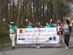Over 300 participated in our Walk for AIDS and raised over $35,000 to benefit low-income persons living with AIDS at House of Mercy.