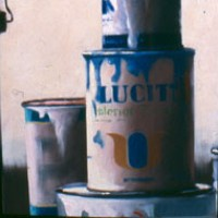 PAINT CANS #11 by Thomas Tietjen