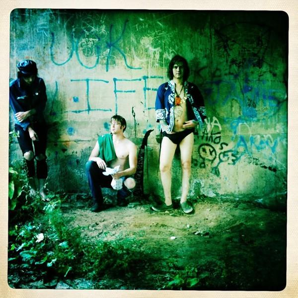 Paint Fumes (Elijah Von Cramon on far left)