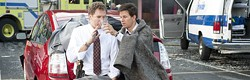 MACALL POLAY / COLUMBIA - PARTNERS: Will Ferrell and Mark Wahlberg in The Other Guys