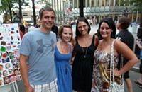 Party pics from Taste of Charlotte