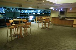RADOK - PARTY ROOM WITH A COURTSIDE VIEW: You can live it up in the Party Suite at Bobcats Arena.