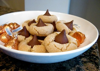 Back of the Box: Hershey's Kisses Peanut Butter Blossom Cookies