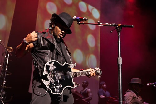 People had been waiting for D'Angelo's comeback for years when he finally hit Verizon Wireless Amphitheatre on Sept. 16, 2012.