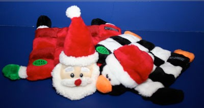 Pet Essentials - Dont forget about your beloved four-legged friend this Christmas, watch his tail go bonkers over a stuffed toy filled with 16 squeakers. Shop at Pet Essentials for all your dogs favorite things. - 7510 Pineville-Matthews Rd. (Pet Essentials @ Carmel Village). - 704-341-9936 - Monday-Friday 10 a.m.-8 p.m., Saturday 9 a.m.-6 p.m., Sunday 12 p.m. -5 p.m. - www.petessential.com - Credit cards accepted