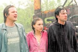 FOX SEARCHLIGHT - Peter Sarsgaard, Natalie Portman and Zach Braff in - Garden State