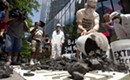 Protesters dump 500 pounds of coal in front of Bank of America