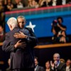 Photo: Clinton and Obama feeling the love