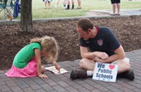 Photos: Education-themed Moral Monday (6/9/14)