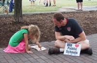 Photos: Education-themed Moral Monday (6/9/14)