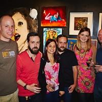 Photos: Ghoulish exhibit opening at Twenty-Two, 10/11/2014