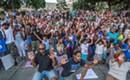 PHOTOS: Rally against police brutality in Marshall Park