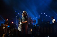 Photos, setlist: My Morning Jacket, Uptown Amphitheatre, 8/25/2012