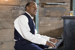 EMERGING PICTURES - PIANO MAN: Tyrone Purvis (Danny Glover) serves up songs in the key of life in Honeydripper.