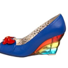 Would you wear these Butterfly Love Peep Toe Wedges?