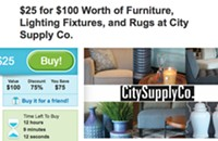 Great Groupon deal: City Supply Co.