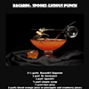 Bacardi's Halloween punch recipe