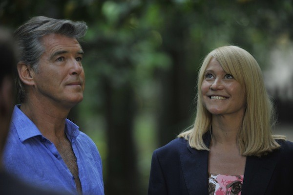 Pierce Brosnan and Tryne Dyrholm in Love Is All You Need (Photo: Sony)