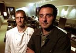 RADOK - Pierre Bader and Tim Groody at Sonoma Modern American