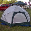 Pitching a nightlife tent
