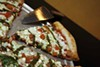 <p>PIZZAZZ: Positive friction pizza from The Pizza Peel &amp; Tap Room</p>