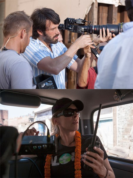 POLITICS AS USUAL: Argo director Ben Affleck (above) and Zero Dark Thirty helmer Kathryn Bigelow might have missed out on Oscar nominations for unfair reasons. (Argo: Warner; Zero Dark Thirty: Columbia)