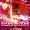 The lounge of Mez, relaunched