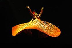 MARIE-JOSÉE LAREAU - Prepare yourself for extreme distortions in reality and what is and isn't humanly possible when Cirque du Soleil's Delirium comes to Charlotte Bobcats Arena, April 28-29