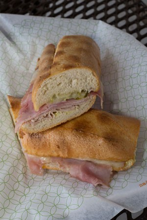 Pressed Cuban sandwich found at Publix