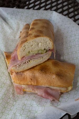 Pressed Cuban sandwich found at Publix