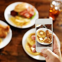 Pro tip: Put your phone away while dining.