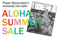 Paper Skyscraper hosts Aloha Summer Sale