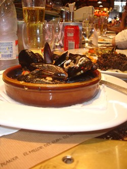 TRICIA CHILDRESS - PUMP IT UP: Mussels steamed in wine