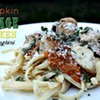 Recipe: Pumpkin & Sage Chicken over Linguini