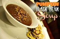 Recipe: Pumpkin Black Bean Soup