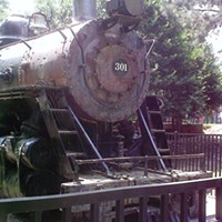 Question the Queen City: How did a train end up in Freedom Park?
