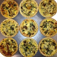 Quiche courtesy of Beverly's Gourmet Foods
