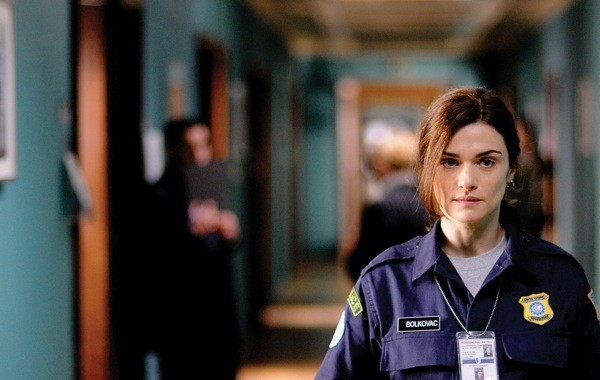 Rachel Weisz in The Whistleblower, which will be shown at this year's RiverRun Film Festival.