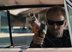 SUMMIT ENTERTAINMENT - RAGE IN A CAGE: Nicolas Cage, recently arrested on charges of domestic abuse and disturbing the peace, stars in Drive Angry.