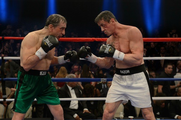 RAGING BULLS**T: Robert De Niro and Sylvester Stallone star in the feeble Grudge Match. (Photo: Warner Bros.)