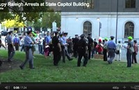 Raleigh occupiers get arrested, Charlotte occupiers get a bank account