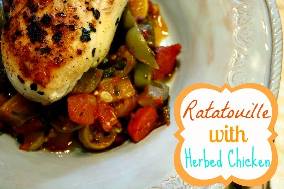 Ratatouille with Herbed Chicken