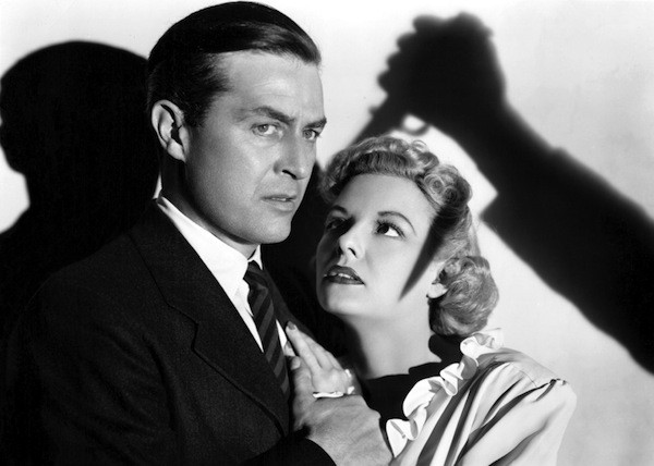 Ray Milland and Marjorie Reynolds in Ministry of Fear (Photo: Criterion Collection)