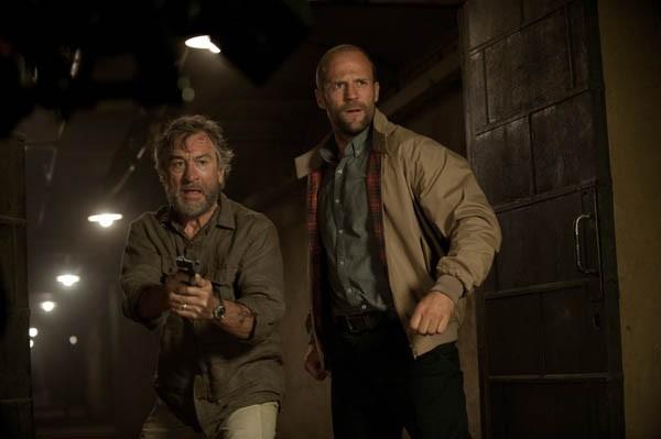 READY FOR ACTION: Robert De Niro and Jason Statham in Killer Elite