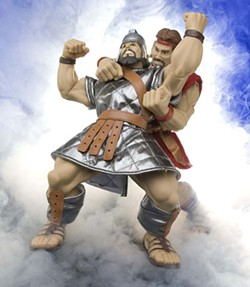 ONE2BELIEVE - REAL HEROES TO BELIEVE IN: Samson and Goliath's Super-Revenge Death Match vs. ...