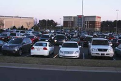 JASIATIC - RECESSION?: Does the parking lot at Northlake Mall translate into dollars inside?