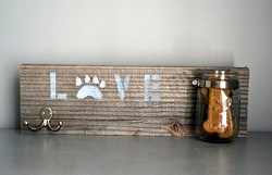 TWINED - Reclaimed Wood Pet Sign