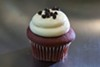 <p>Red Velvet Cupcake from Tizzerts</p>
